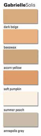 Desperate Housewives: The Paint Colors of Gabrielle Solis's interior