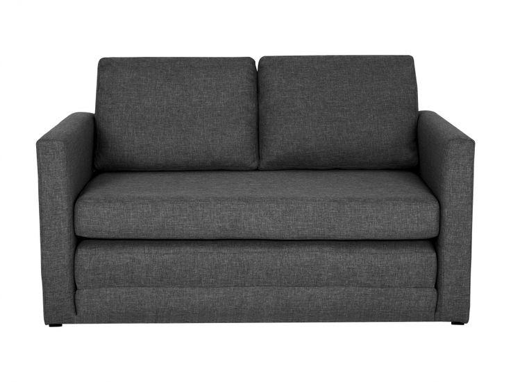 PIXIE 2-sits Bäddsoffa Mörkgrå i gruppen Inomhus / Soffor / Bäddsoffor hos Furniturebox (100-71-86609)