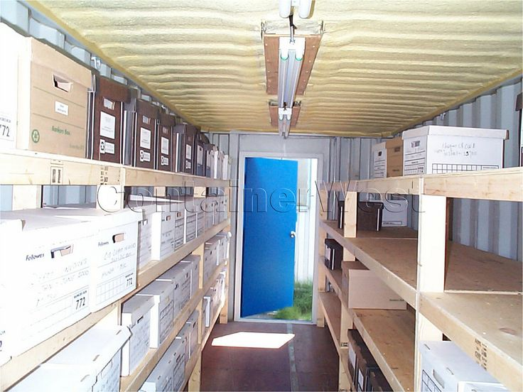 Document Storage. Container SalesGarage ...