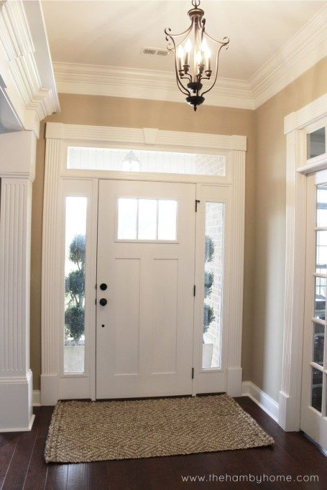 Foyer With Area Rug : Jute entryway rug the hamby home pinterest