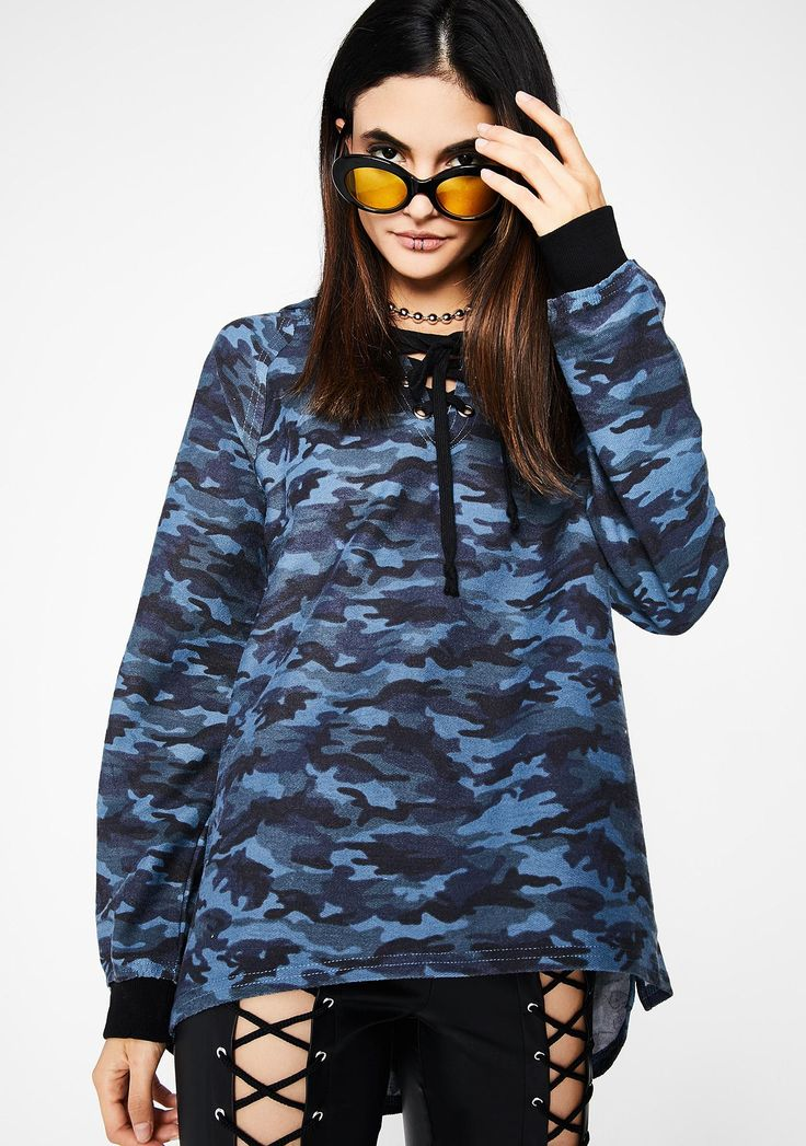 At Attention Camo Hoodie