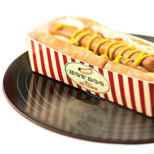 Party Ark's 'Retro American Hot Dog Trays'