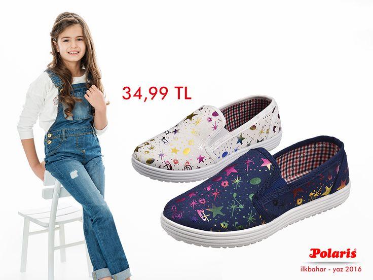 Çocuklar parlak detaylarla her daim ışıldasın! #SS16 #newseason #spring #summer #ilkbahar #yaz #yenisezon #fashion #fashionable #style #stylish #polaris #polarisayakkabi #shoe #ayakkabı #shop #shopping #child #childfashion #childstyle #trend #moda #ayakkabıaşkı #shoeoftheday #colorful #stars