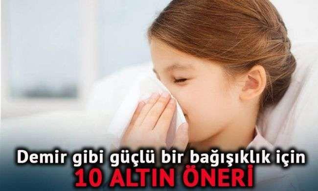 Alerjik çocuklarda demir gibi güçlü bağışıklık için 10 altın öneri