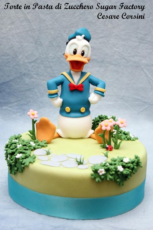 17 Best Images About Cakes Disney Daisy Amp Donald Duck