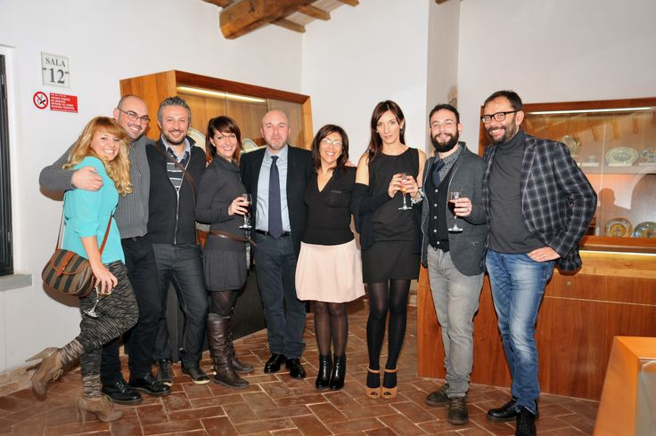 """In the amazing venue of """"Museo Regionale della Ceramica"""" in Deruta, a night for all the people that with their work built the big success of Sensational Umbria. #SensationaUmbria #SU14 #McCurry #Umbria #Deruta #party"""