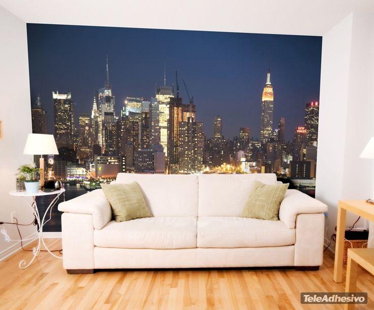 Fotomurales new york 10 fotomurales sitios famosos - Fotomurales habitacion juvenil ...