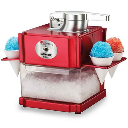 Snow Cone Ice Crush & Sluch Maker - http://tidd.ly/d1a83d9d. Another great product from Prexxybox