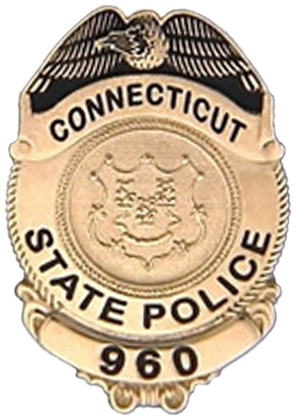 Connecticut State Police Badge