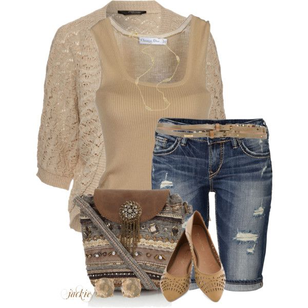 Bermuda Shorts, created by jackie22 on Polyvore