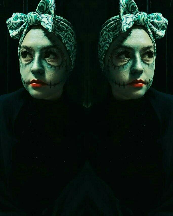 Dead bride makeup⚰