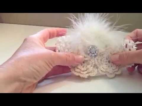How to make a Vintage Baby Headband