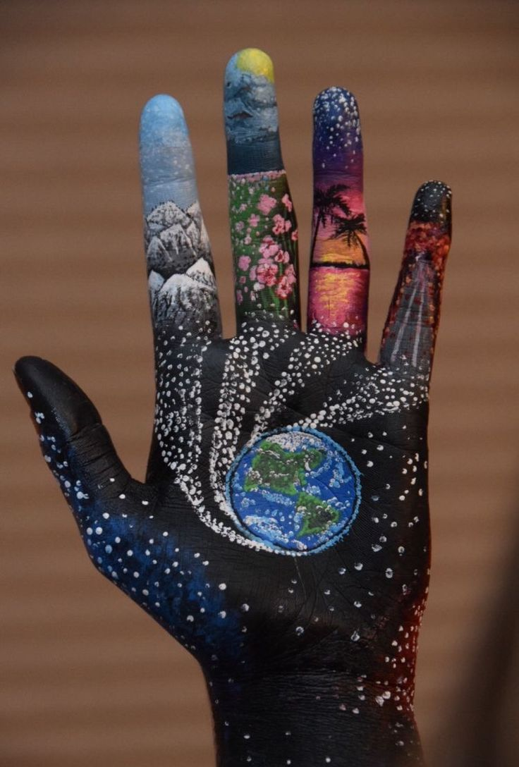 The entire world, within the palm of your hand. Might you even think about the kind of be... - #Hand #imagine #palm #type #world