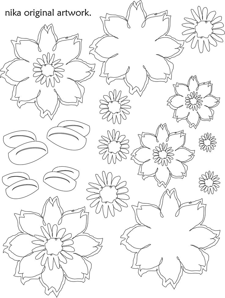 print onto c.s., colour, cut, paste & layer to make fun & funky flowers.  to quick cut, simply wiggle your scissor as you go - creating a deckle edge - I/ve deliberately drawn this flower flower loosely to be cut this way.  The faster you cut, the better the result!