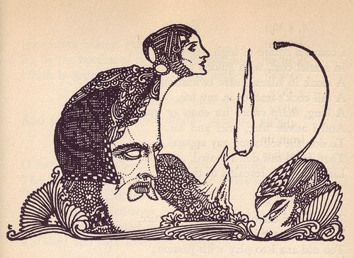 Harry Clarke for a 1925 edition of Goethe's Faust