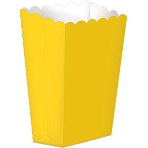 Große gelbe Popcorntüten 18cm