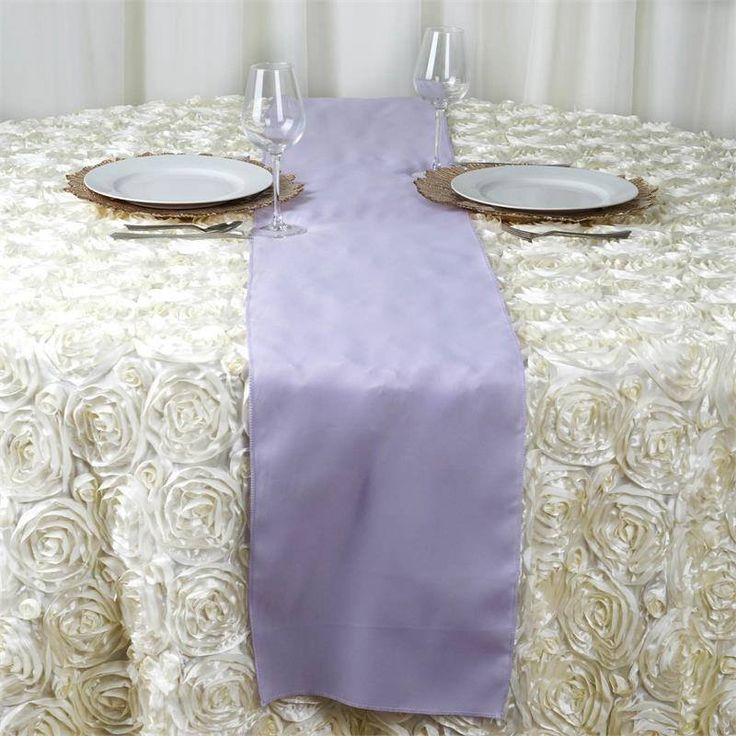 Lavender Polyester Table Runner | Plan as many events as you want and invite as many guest as you desire without even worrying about the expenses and your budget. With our sturdy and economical polyester table runners, you can now transform any dining experience into a magnificent feast with an upscale feel and an elite look without breaking the banks. Get inspired by this premium quality polyester table runner that opens the gates of creativity and ingenuity. With such a high standard…