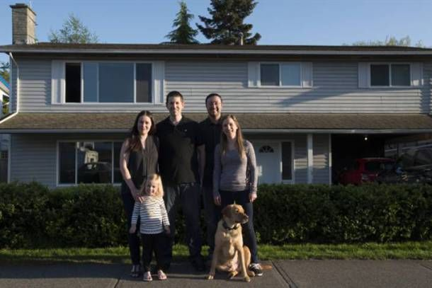 """TORONTO – When Jeremy Campbell purchased a house in Ladner, B.C., with his sister and her husband in 2010, it was meant to be a temporary arrangement until he could upgrade to a place of his own. """"The initial plan was to do this short term just to get into the market, build some equity …"""