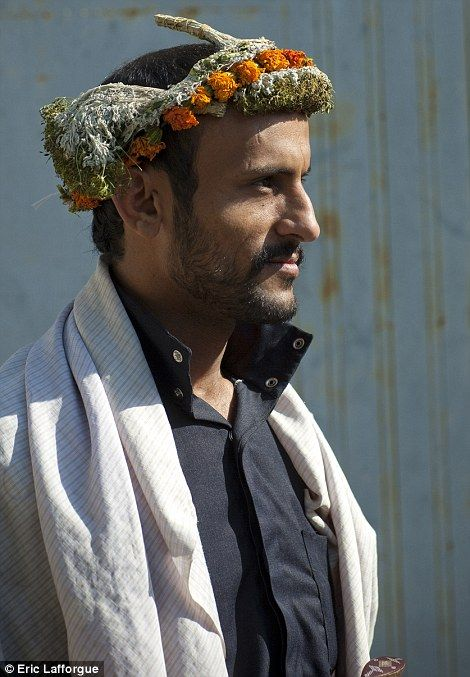 The flower men of Saudi Arabia: Tribe live in remote mountain fortresses where they have preserved their way of life for 2,000 years (but are so violent even the police are scared to cross them)