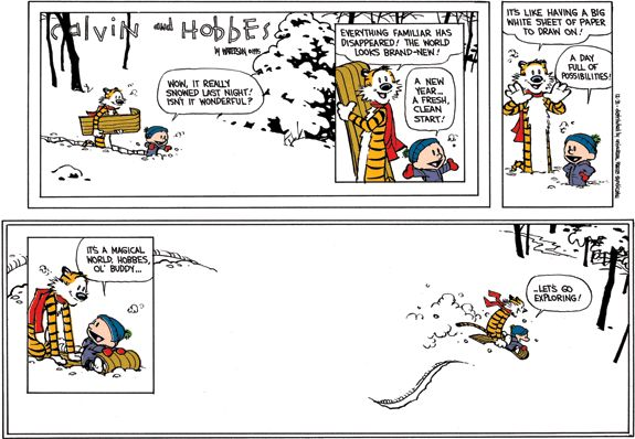 The Very Best Calvin and Hobbes Comic Strips From Our Youth - Page 2 of 2