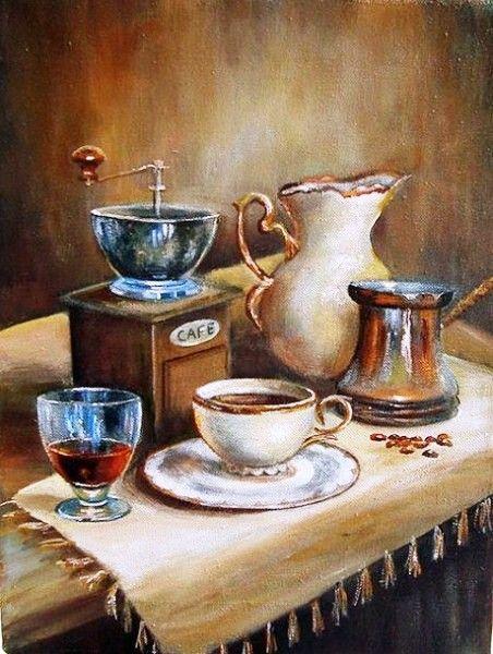 Кофе в доме буржуа.