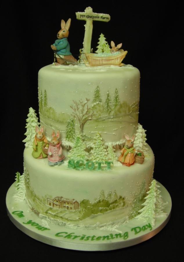 141 Best Images About Beatrix Potter Cake On Pinterest