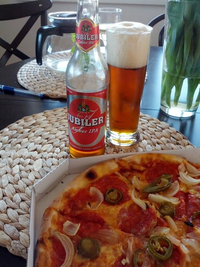 jalapenos @pizza w/ Czech IPA