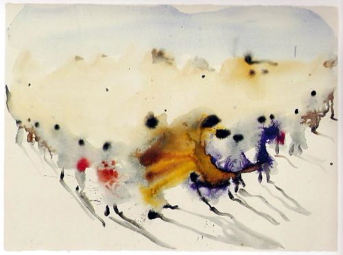 Miquel Barcelo spanish painter, untitled, 2007Follow:Contemporary-Art-Blog