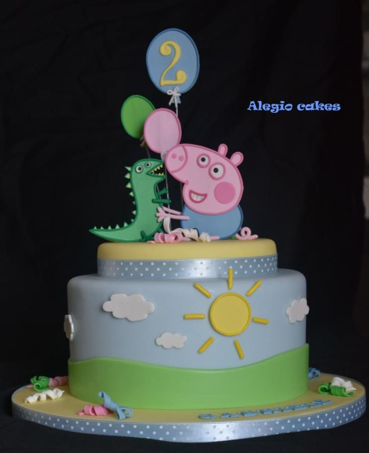 George pig - Cake by Alessandra Rainone