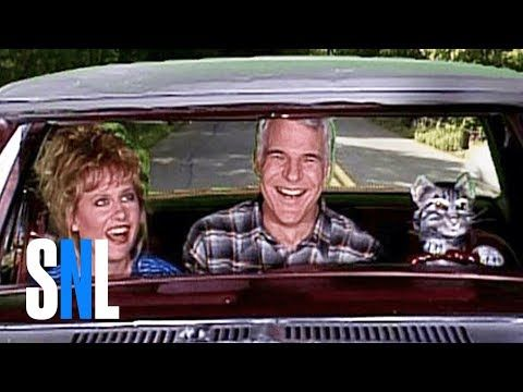 Toonces the Driving Cat: Driver's test - SNL - YouTube