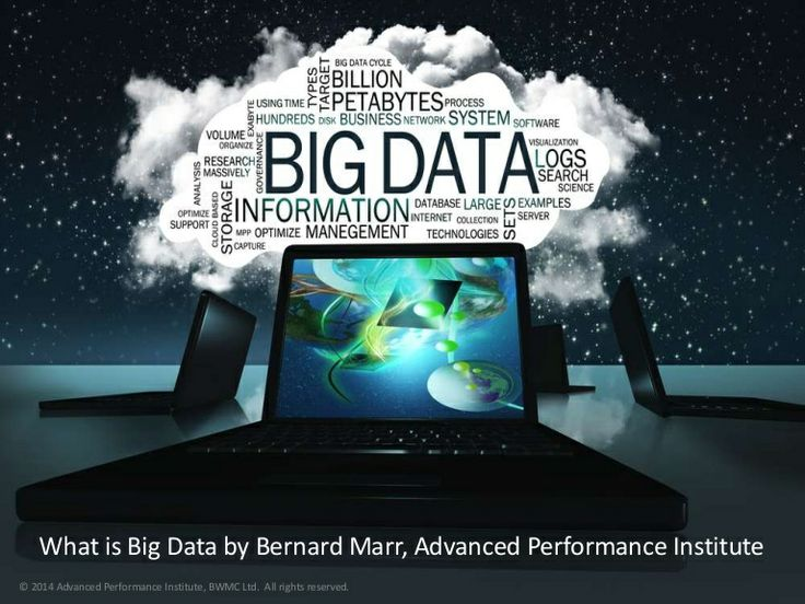 Slideshow outlines in simple terms what Big Data is and how it is used today. It covers the 5 V's of Big Data as well as a number of high value use cases. #BigData