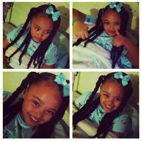 Magnificent 1000 Images About Natural Kids Pig Ponytails On Pinterest Short Hairstyles For Black Women Fulllsitofus