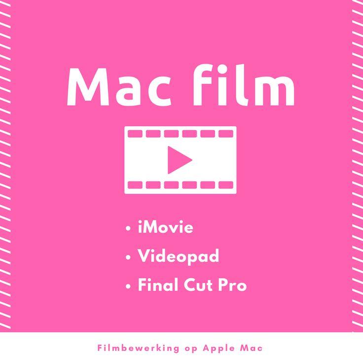 Videobewerking op de Apple Mac computer - Het Perspectief PCVO