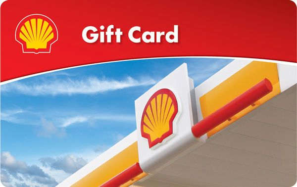 $10 / $25 / $50 Shell Gas Gift Card - Mail Delivery