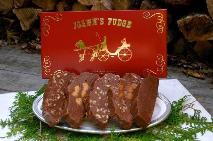 #1 JoAnn's Fudge, Mackinac Island, Michigan from America's 25 Best Fudge Shops