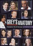 Grey's Anatomy: The Complete Sixth Season [6 Discs] [DVD], 10468100