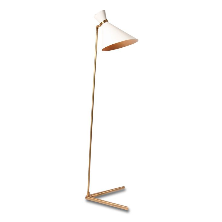 Peggy Stand Lamp White