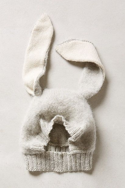 CUTENESS!! Bunny Ears Hat - anthropologie.com #anthrofave