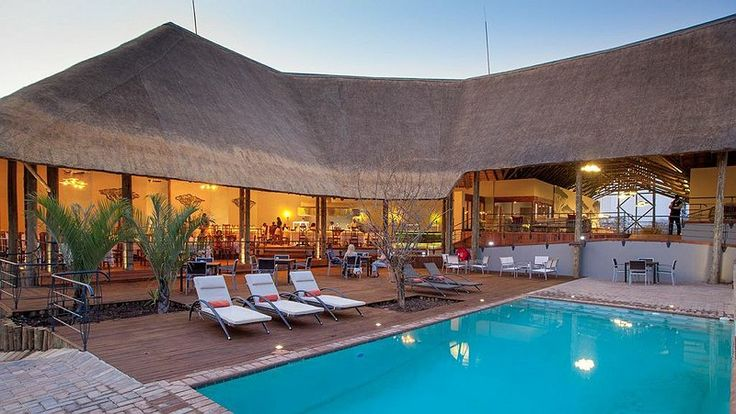 Chobe Bush Lodge - Kasane - Botswana. Bordering the world renowned Chobe National Park, this new lodge offers superb creature comforts and activities and is the perfect way to end your safari in Botswana. | http://underonebotswanasky.com/camps/chobe-bush-lodge.php