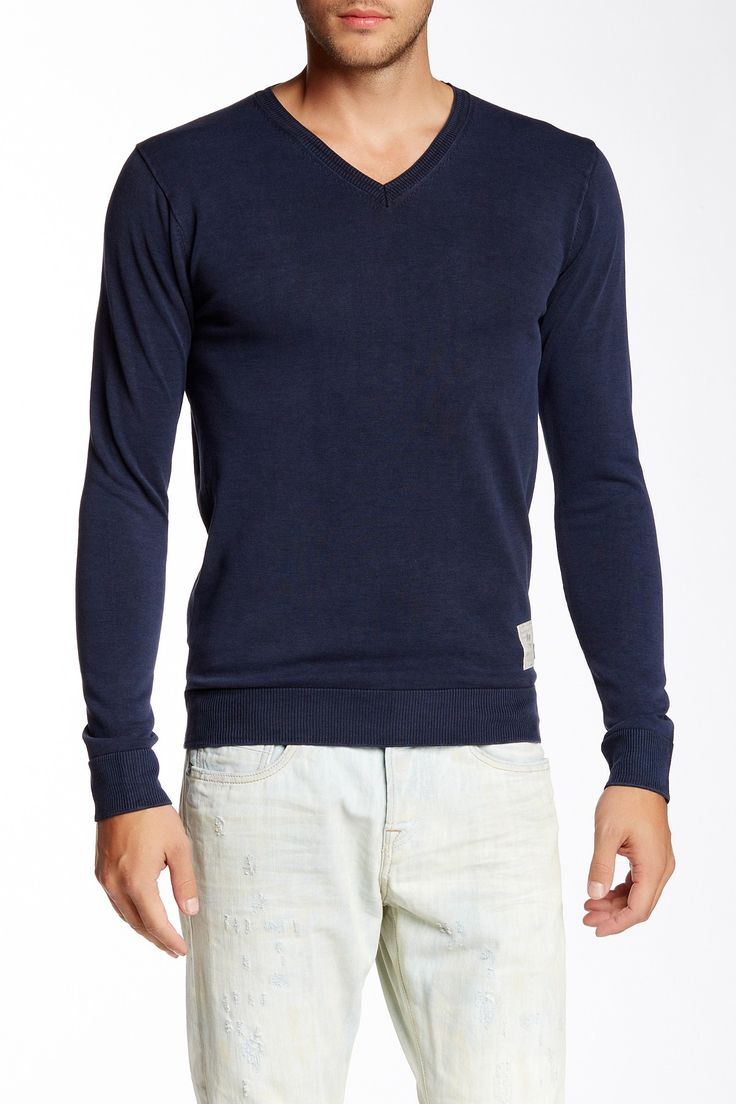 Scotch & Soda V-Neck Pullover Sweater