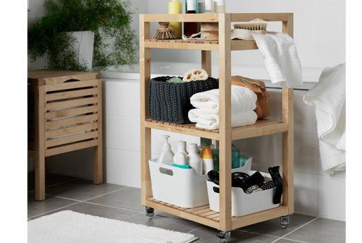 Image result for bathroom trolleys