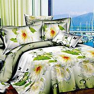 manfen 3d stampa floreale biancheria da letto qua... – EUR € 24.54