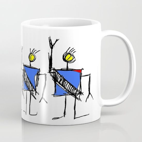 Collection Roro le robot by Oldking.  https://society6.com/product/roro-the-robots_mug?curator=boutiquezia