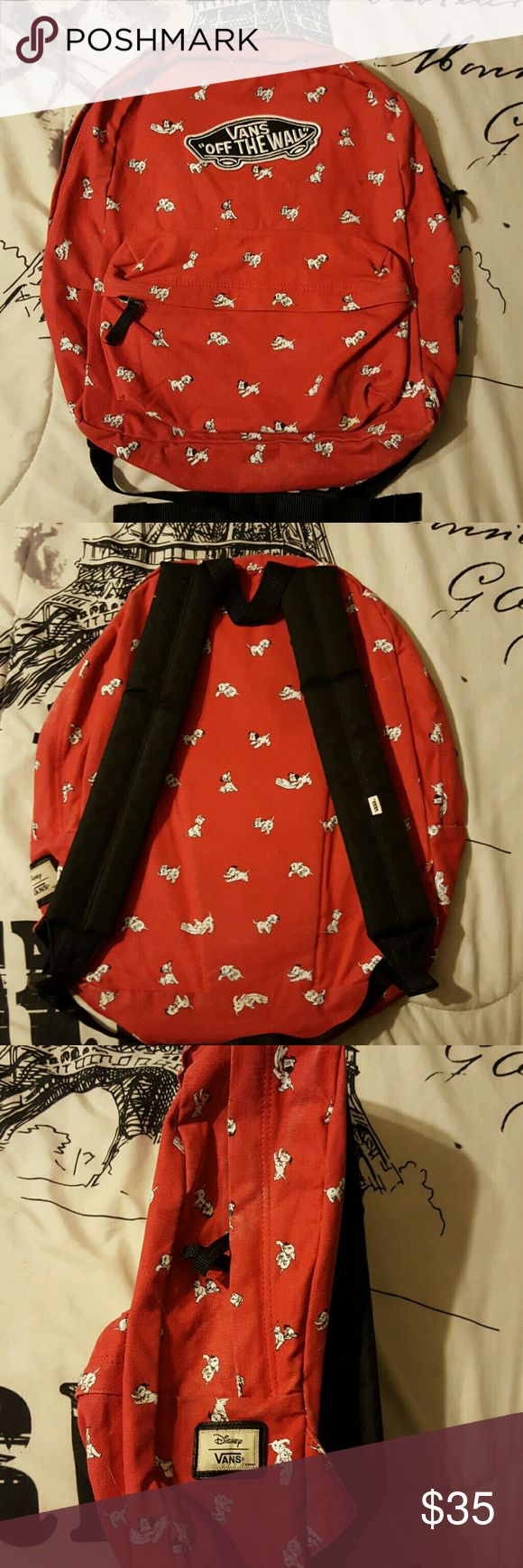 Vans dalmatian backpack Used it for a semester of college. Vans Bags Backpacks