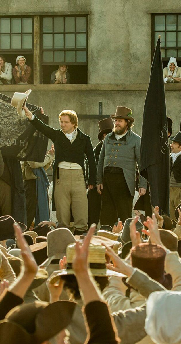 Directed by Mike Leigh. With Teresa Mahoney, Adam Long, Rory Kinnear, Maxine Peake. The story of the 1819 Peterloo Massacre where British forces attacked a peaceful pro-democracy rally in Manchester.