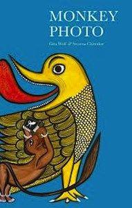 Monkey Photo India Book.      #India #Indian #culture #art #children #read #book #books #school #students #home #family #kids #kidslit #summer #reading #NRI #teaching #preschool #kindergarten #Bengal #patua #monkey #photo