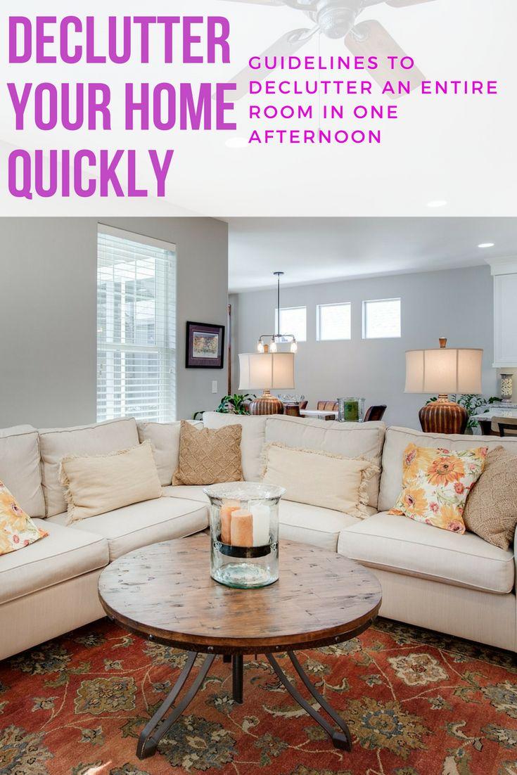 Best 25 declutter your home ideas on pinterest for Declutter bedroom ideas