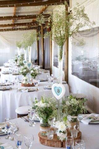 Wedding decor done by me @ Boesmanland Farm Kitchen