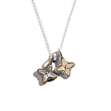 Starburst Initial Necklace