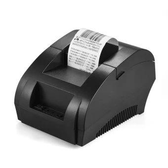 ของดี  POS-5890K 58mm USB Thermal Printer Receipt Bill Ticket POS CashDrawer Restaurant Retail Printing Black - intl  ราคาเพียง  962 บาท  เท่านั้น คุณสมบัติ มีดังนี้ Widely applied in all types commercial retail POS systems,support cash drawer driver. No need for ribbons / ink cartridge, low operating cost. Work well with 58mm thermal paper, with 100km reliabilityprint, offer long service time. Max. 90mm/s fast printing speed, clear printing effect, lownoise. With lighting indicator showing…